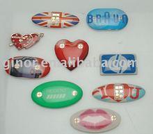 flashing phone sticker/led mobile sticker