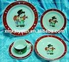 20pcs ceramic dinnerware set/plates/cup/saucer (100-25)