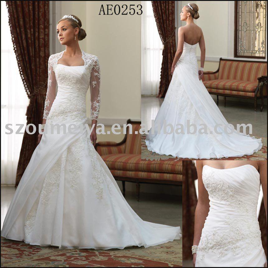 Popular Stylish Bridal Wedding Dress GiftSmall Jacket AE0253