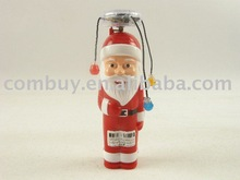 santa claus sticker with flashing light and music for christmas party
