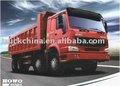 Sinotruck Howo 8 x 4 camião basculante / basculante / caminhão basculante