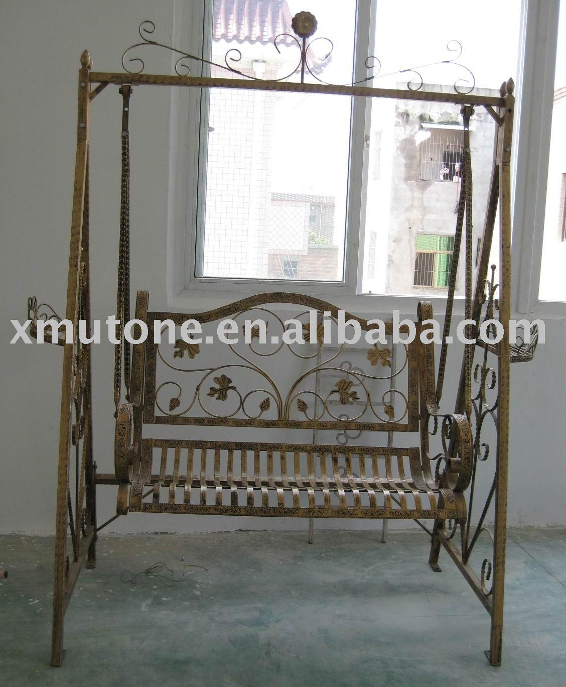 Cadeira de balanço de ferro Portões ID do produto:337117266  #5B4D37 1128x1368