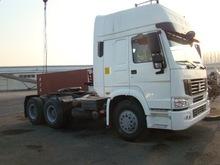 Sinotruk HOWO 266HP White Tractor Truck 6x4 Driving Wheel