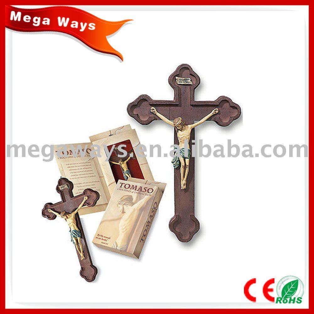 Resin Jesus Cross