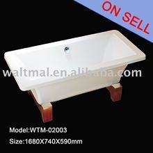 Classic wooden Bathtub wtm-02003