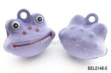 Cartoon bell frog in stock
