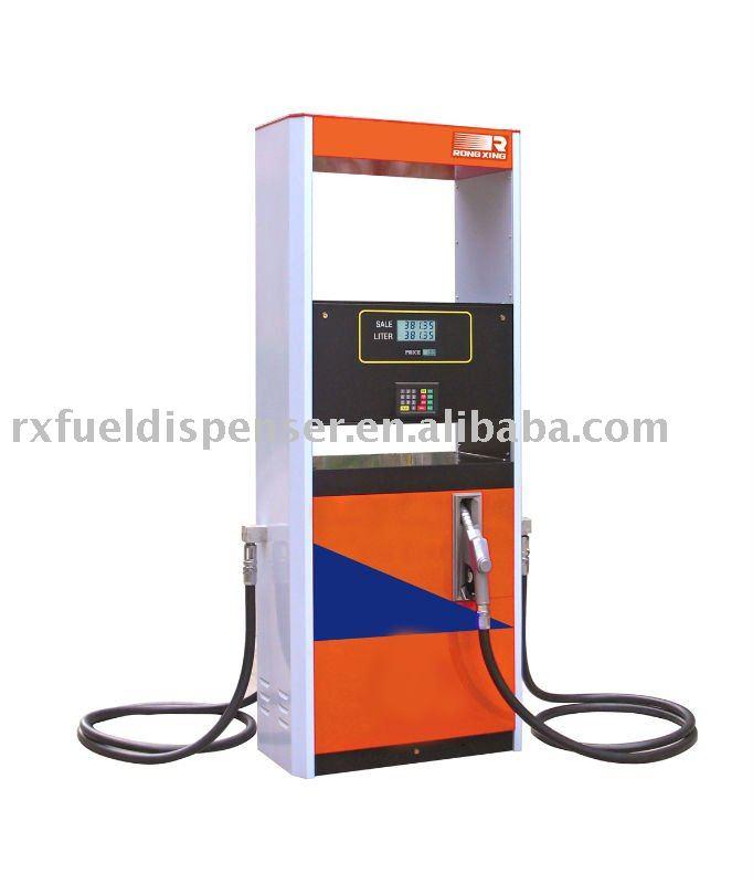 gas pump nozzle. 2 nozzle pump(fuel pump,