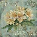 Fleurs fragrâncias clássica pintura em tela