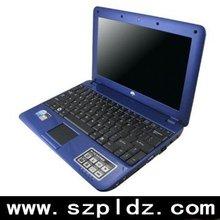 "10.2""LED screen Laptop/Intel Atom N270/Windows Linux/ VISTA/with WIFI 3G solt"