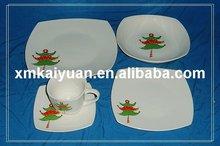 20pcs square dinner set/porcelain dinnerware(110-086)