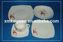 10pcs porcelain dinner set/decal dinnerware(110-093)