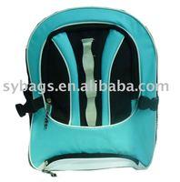 600D polyester supermarket school bag / outdoor leisure sports bag / High Quality mini streak school backpack for kids wholesale