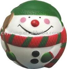 Snow man Anti Stress Ball