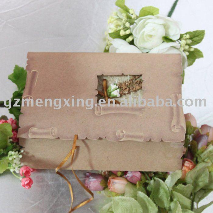 See larger image Vintage wedding invitationT150