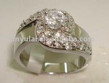 925 silver zircon kundan jewellery ring photos