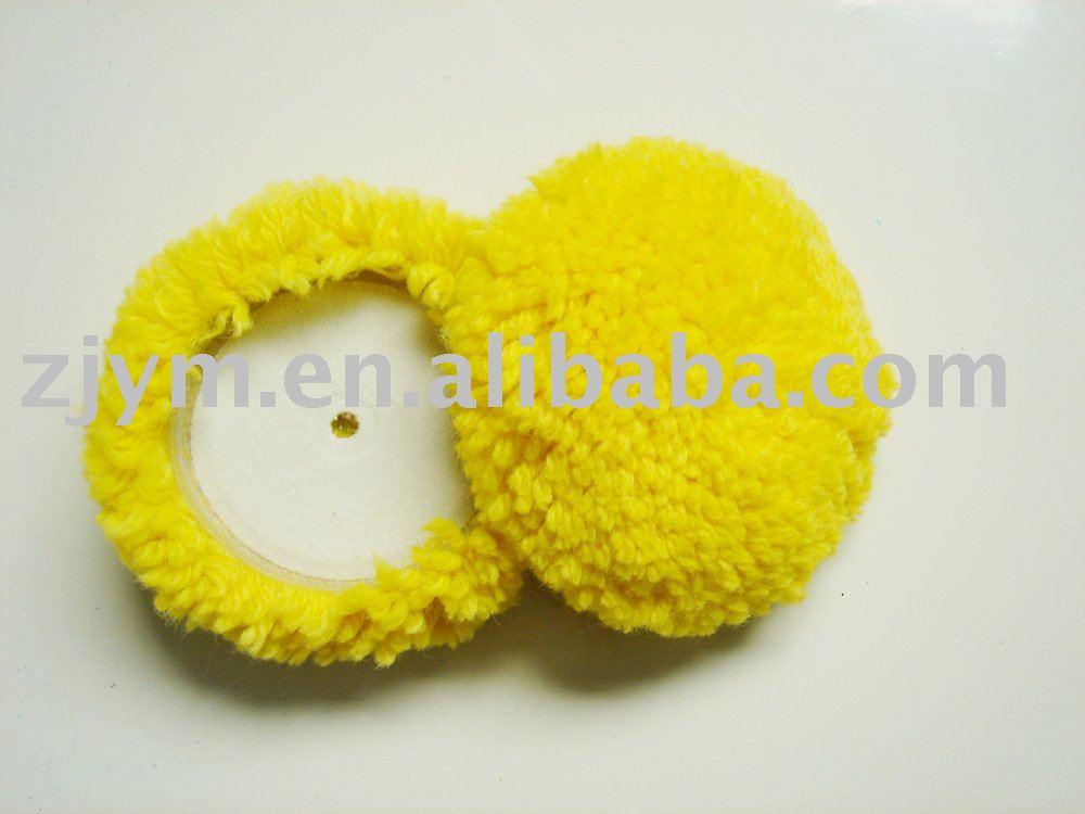 "3"" velcro wool buffing ball"