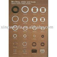 Nylon coated bra buckle/bra adjuster