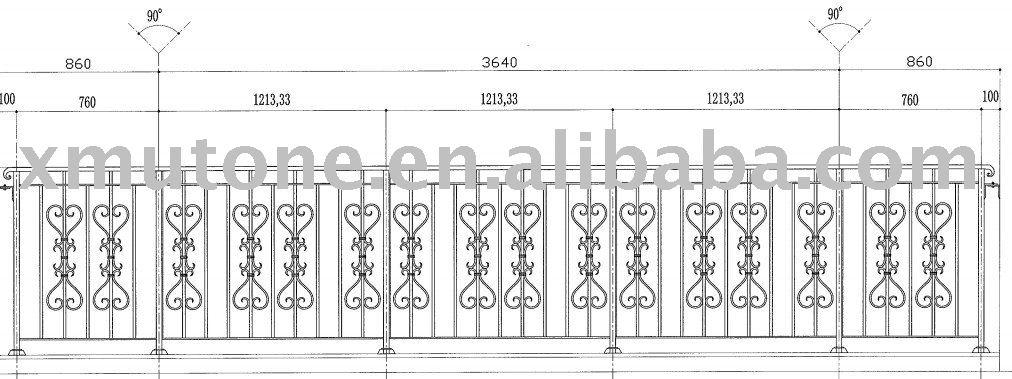 veranda Iron Railing designs