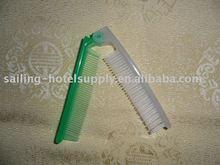 Hotel foldable comb convenient hotel comb