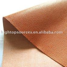 high quality PVC basket ball leather for basket ball or football