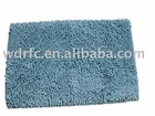 Chenille bathroom mat/rug