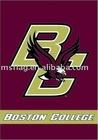 Boston college embroidery flag
