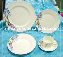20 pcs dinnerware set /porcelain round plates (100-110)