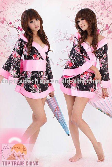 Fashion Japanese kimono Babydoll Sexy New Fashion Babydoll Chemise lingerie ...