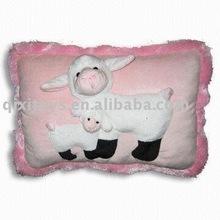stuffed fashion seat cushion, plush animal pillow toy