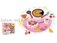 1086659 EN71 Apporval Kitchen Play Toys Pizza & Cake Play Set
