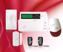 burglar alarm systems uk LCD screen displays Date