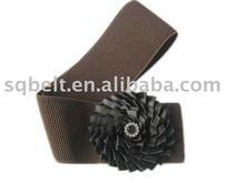 Fashion lady stretch waist belt