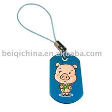 Mobile phone pendant/key chain