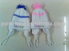 Knitting Wool Baby Headwear/baby hat/baby cap/headgear