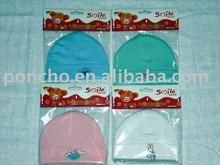 Knitting Wool Baby Headwear/baby hat/baby cap