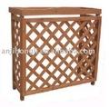 De madera de aire acondicionado de apoyo