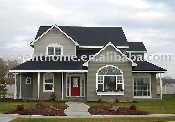 ~ 2011 nueva caída de los modelos de madera casa de campo