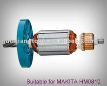 power tool parts MAKITA armature HM0810