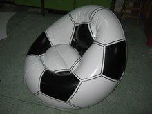 football safa & infatable chair