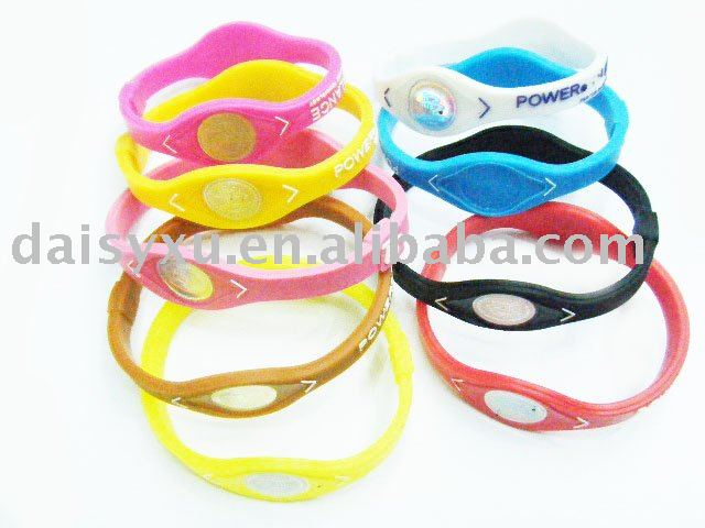 WHOLESALE PINK RIBBON SILICONE WRISTBAND BRACELET BAND - MULTI