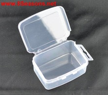 Rectangle Clear Fit Charm Bracelet Beads Display Storage Container W/Lid 73x55x29mm