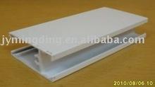 white powder coating aluminum door and window profile
