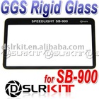 GGS LCD Screen Protector glass for Nikon SB-900 SB900