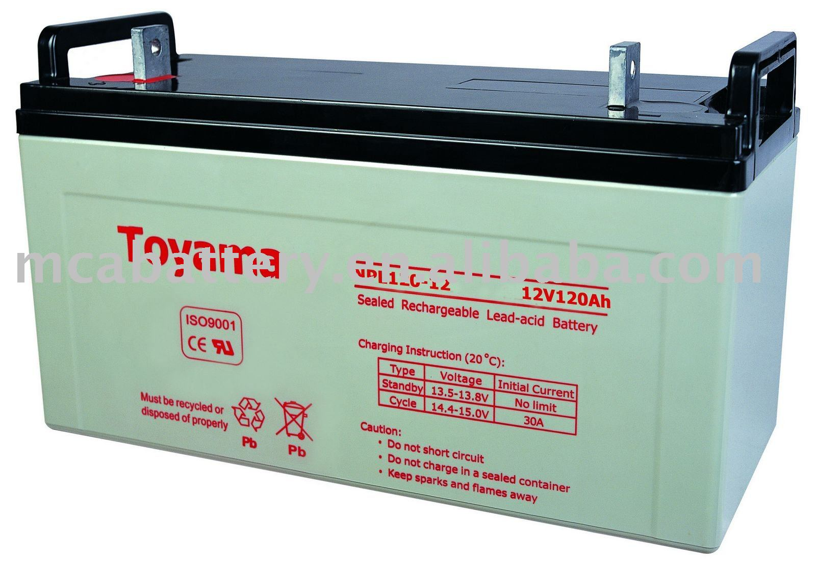 Sealed lead acid battery dangerous goods 6.1