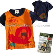 hot sell children's t shirt fashion printed