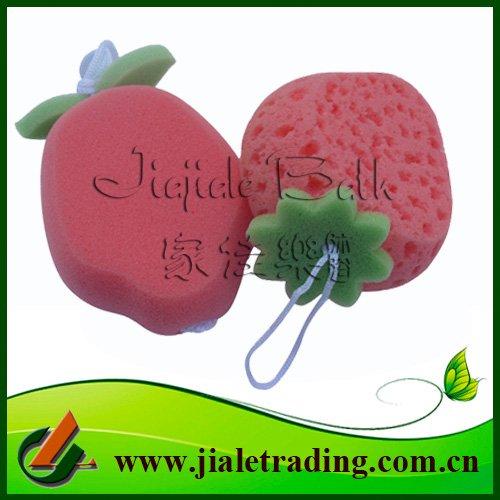 cartoon car wash sponge. pineapple shaped Wash Sponge(China (Mainland))