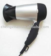 New-design mini foldable hair dryer silver