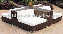 garden rattan sofa/outdoor rattan sofa/garden sofa set