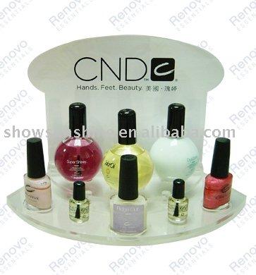 See larger image: cosmetic display stand ,nail polish display rack