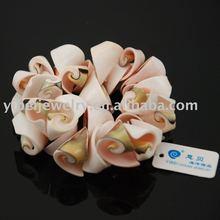 handmade sliced shell bracelets /shell jewelry